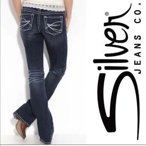 Silver Jeans Aiko Bootcut Medium Wash Size 36